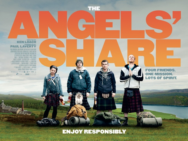 Poster for the Angel's Share by Ken Loach