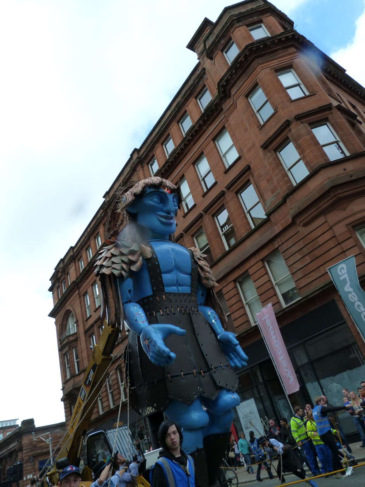 The Big Man at Glasgow's Merchant City Festival