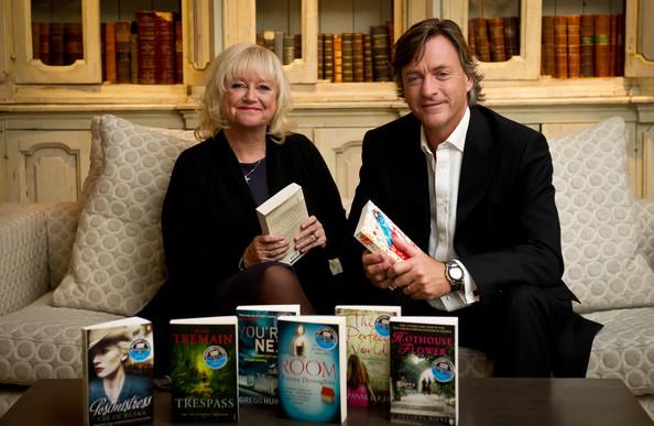 Richard and Judy on a sofa