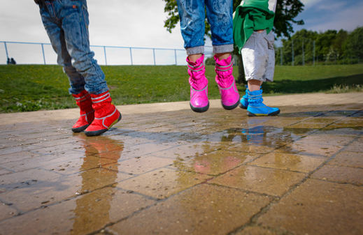 Review: Splats boots for puddle jumping.