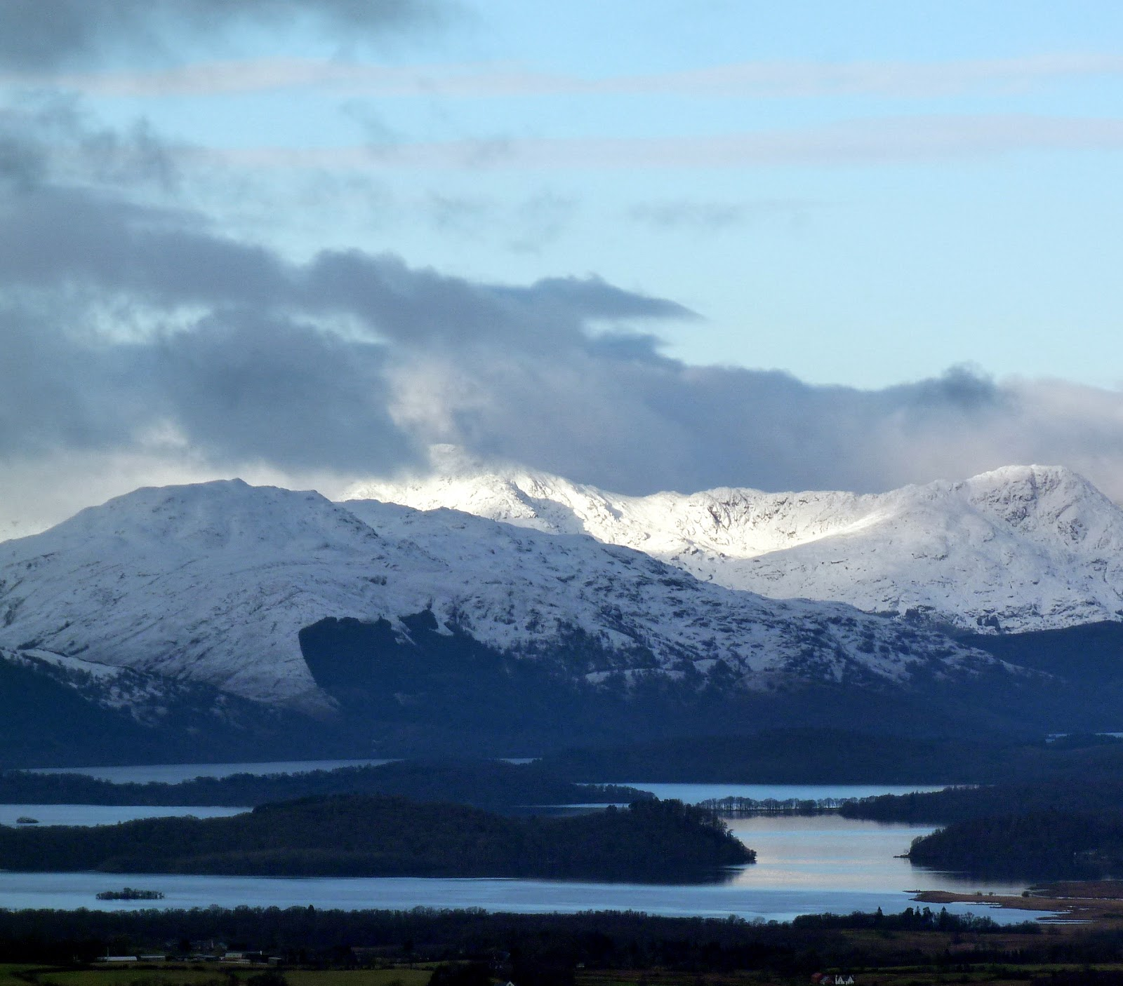 View of Loch Lomond from Queen's View