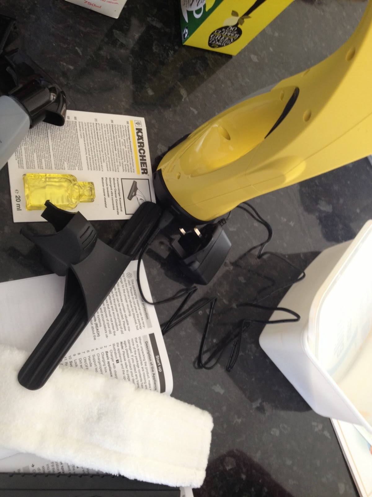 karcher window cleaner instructions