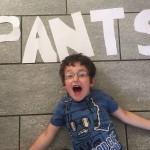 boy and pants