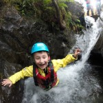Family adventures: ghyll scrambling in Cumbria