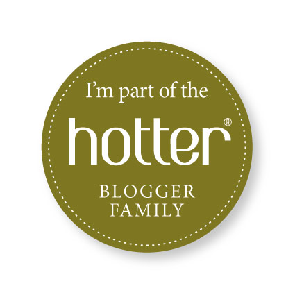 hotter blogger badge