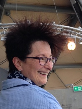 Not that the tower was hair-raising. It was the Van der Graaf generator (not the same as a Van der Graaf Generator)
